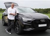 Jose Mourinho for Audi UK feature at Celebrity Agent