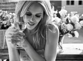 Kylie Minogue for Benchmark Drinks feature at Celebrity Agent